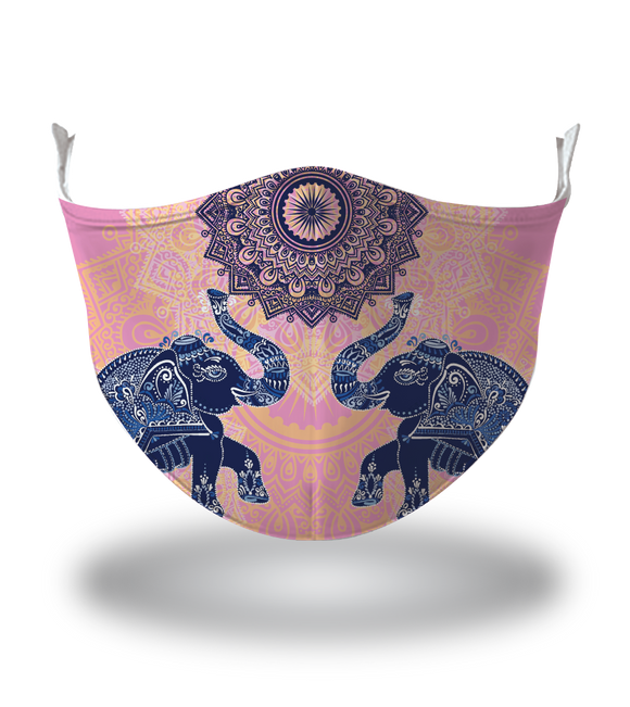 Masx Thai Elephant Reusable Face Mask