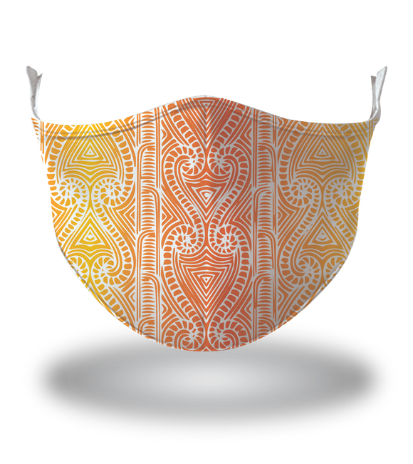 Masx Tiki Art Face Mask