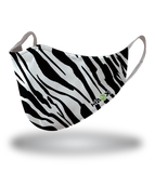 Masx Zebra Print Reusable Face Mask