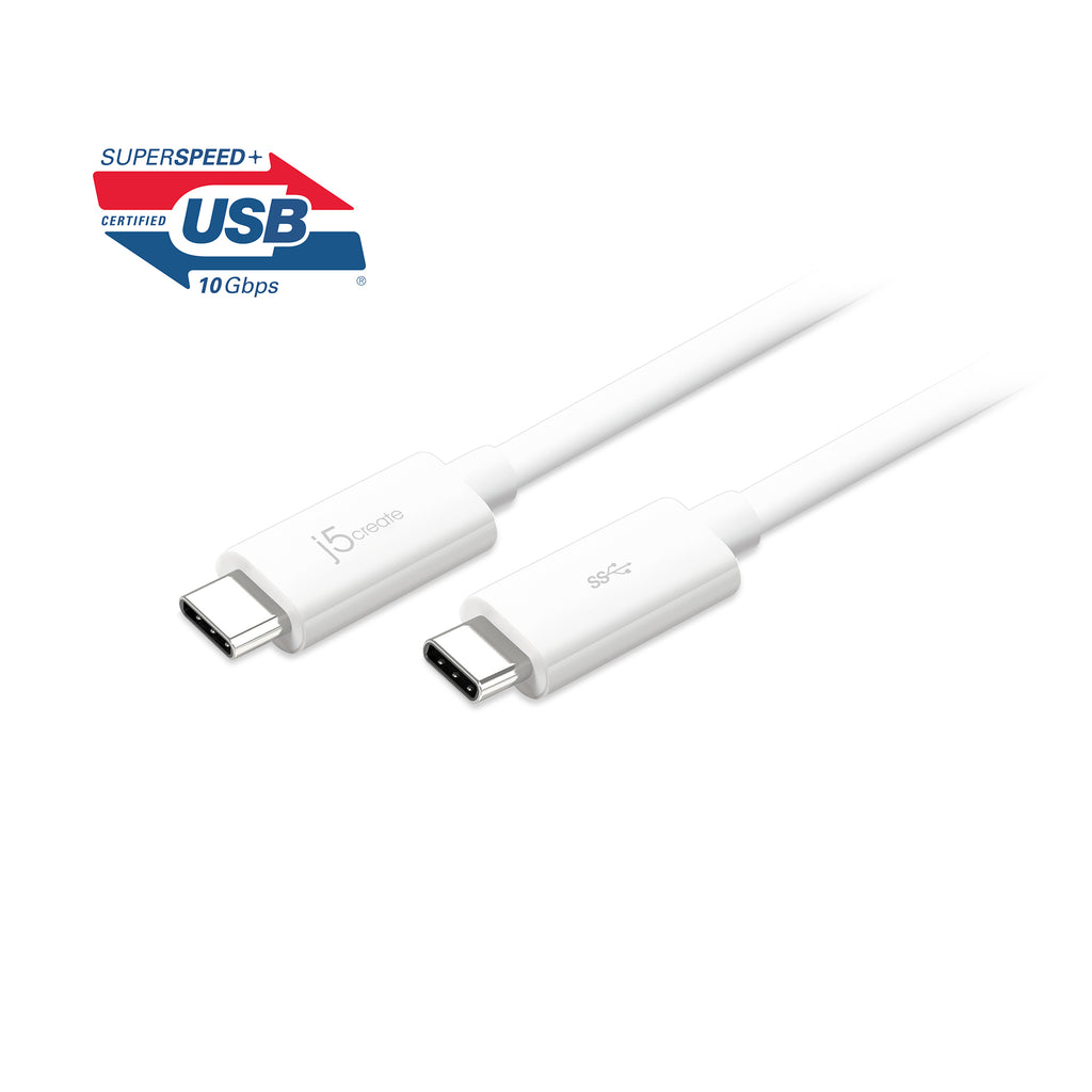 JUCX03J USB 3.1 Type-C to Type-C ケーブル