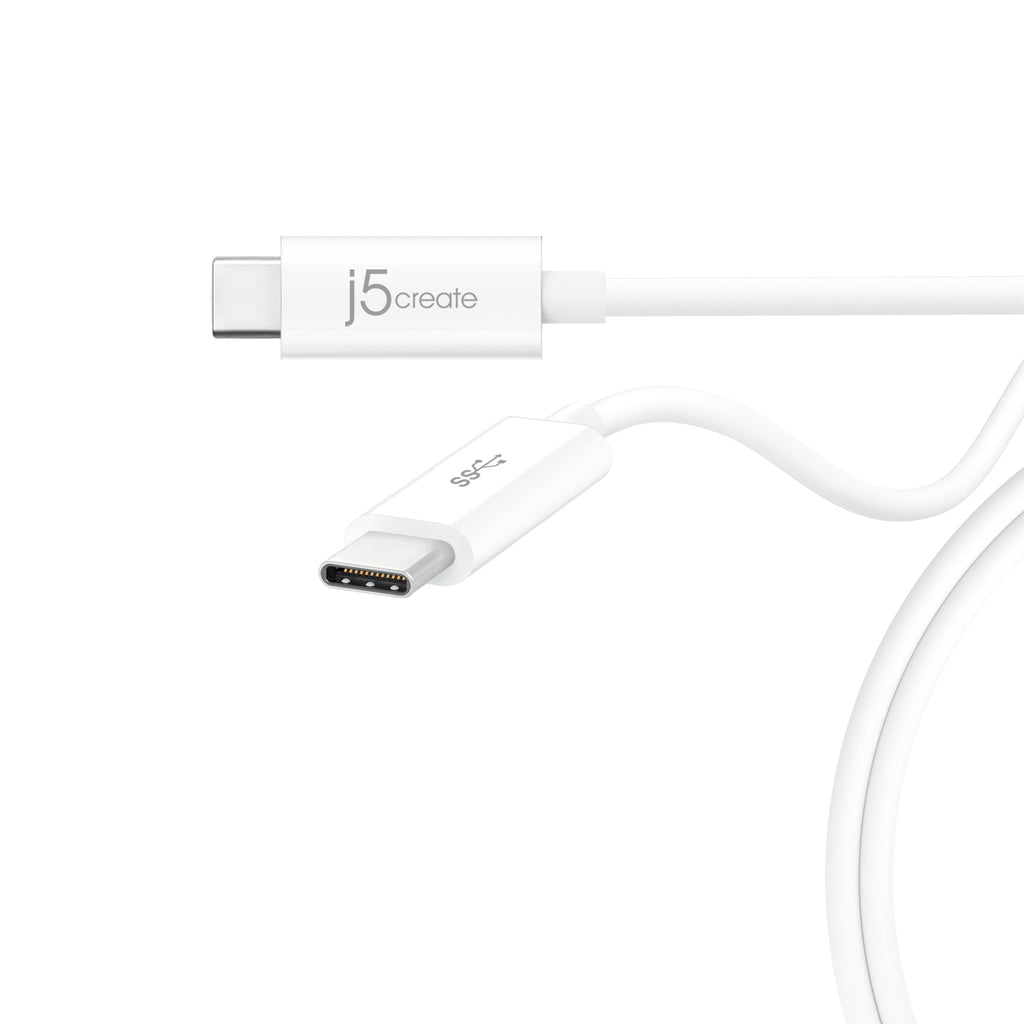 JUCX03J USB 3.1 Type-C to Type-C ケーブル 0.9m