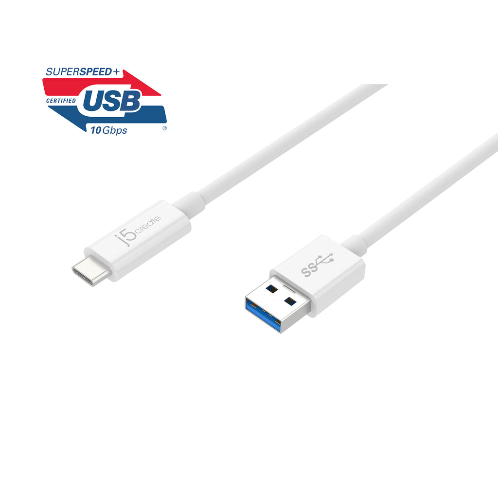 JUCX06 USB 3.1 Type-C to Type-A ケーブル(販売終了)