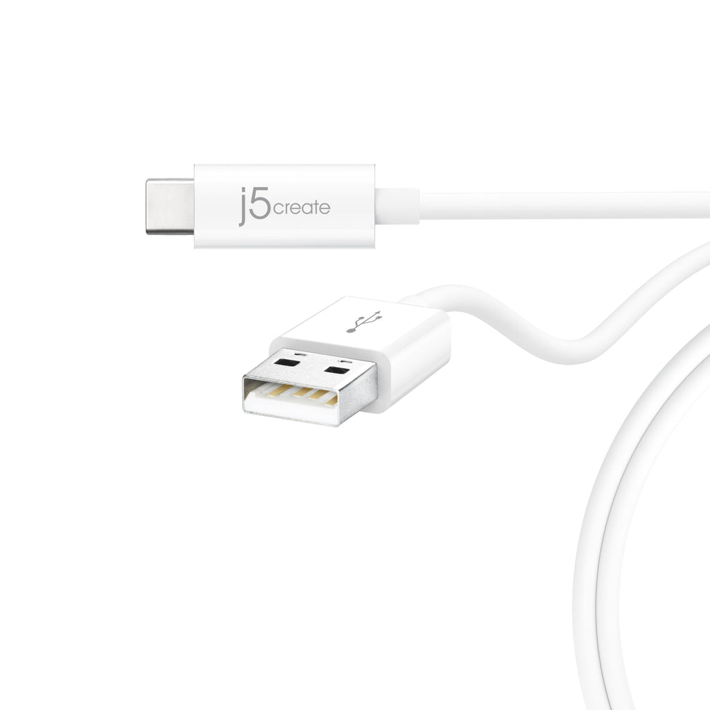 JUCX08 USB 2.0 Type-C to Type-A ケーブル(販売終了)