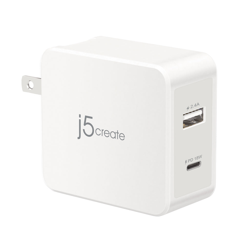 JUP2230 30W 2ポート USB-C PD充電器