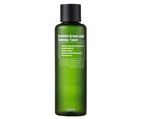 Purito Centella Green Level Calming Toner - HoneyDew Korean Skincare South Africa SA best affordable
