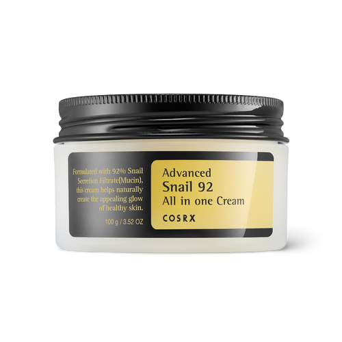 COSRX Advanced snail 92 All in one Cream mucin moisturiser moisturizer affordable - HoneyDew Korean Skincare SA South Africa