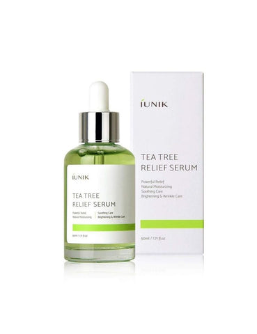 iunik tea tree relief Serum natural acne Korean Skincare South Africa Honey Dew