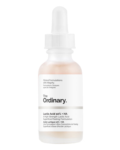 The Ordinary Lactic Acid Hyaluronic Acid AHA Exfoliator Exfoliating Hydrating Serum Korean Skincare South Africa Honey Dew