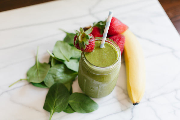 Hydrating Green Smoothie with Coconut Water by Honeysuckle Catering