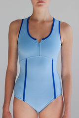 Ballet Zaida by the dancewear project: Malibu Leotard - Oceanside