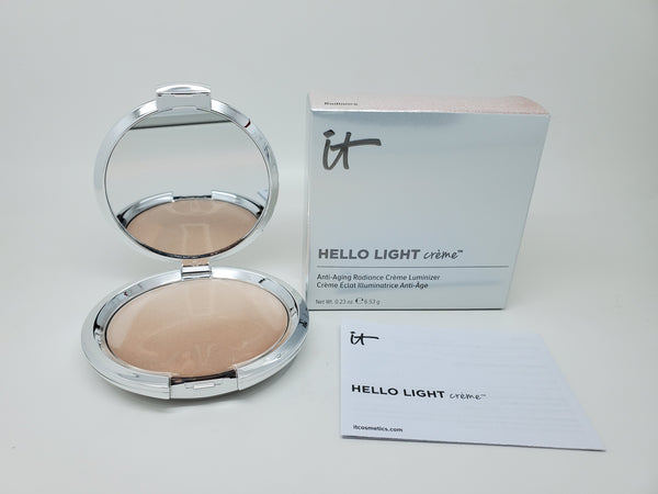 it cosmetics hello light creme anti-aging radiance creme luminizer