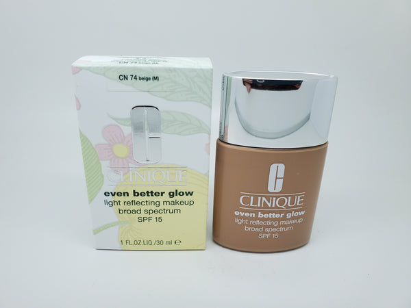clinique even better glow light reflecting makeup cn 74 beige m