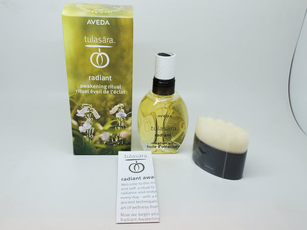 Aveda tulasara radiant awakening ritual oleation oil