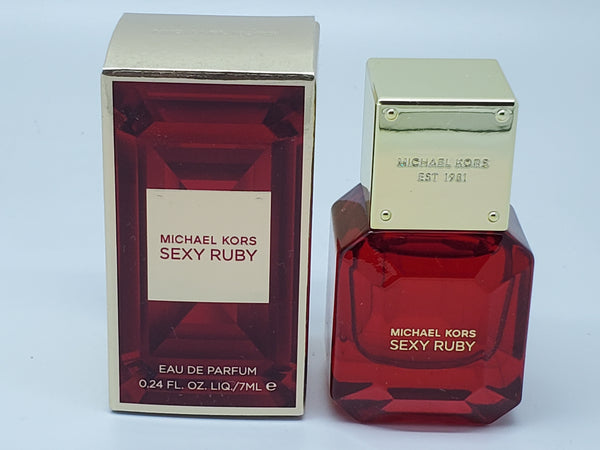 michael kors sexy ruby edp 0.24 oz / 7 ml travel size