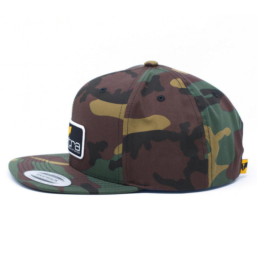 VERTRA CAMO CLASSIC WOOL BLEND SNAP BACK CAP