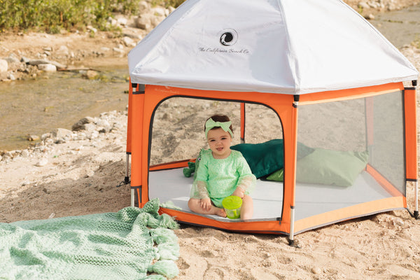Take your Pop N' Go Playpen Anywhere
