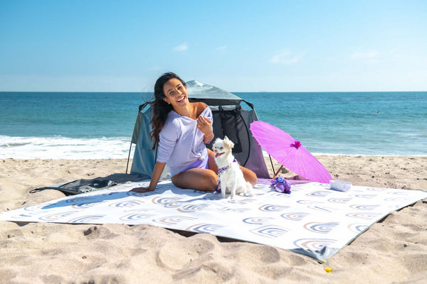 The California Beach Blanket Can Be Used Year Round