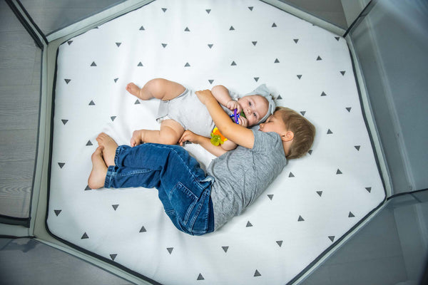 The Pop N' Go Playpen is Naptime-Approved