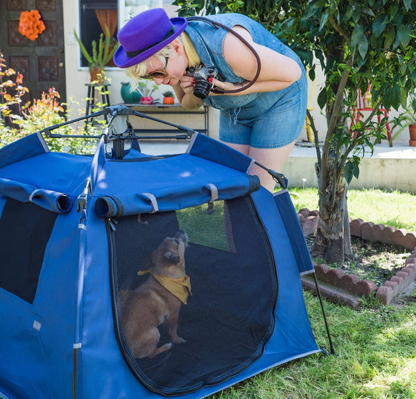 The Pop 'N Go ® Pets Playpen is More Rugged Than the Rest
