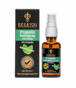 Bee & You Propolisli Ballı Boğaz Spreyi 30ml