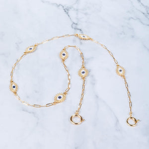Eye Believe - Gold - Mask Chain