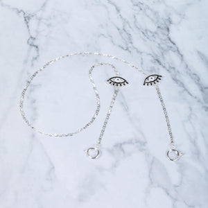 Eye Candy - Silver - Mask Chain