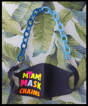 I Sea Blue - Kids Mask Chain