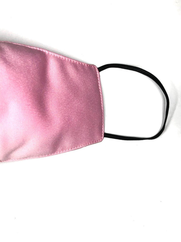 Pink Pearl Silk - Face Mask 1