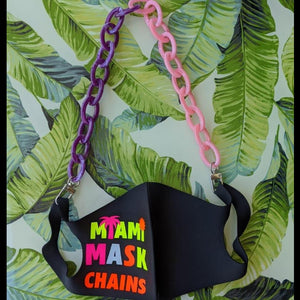 Purple Princess - Kids Mask Chain