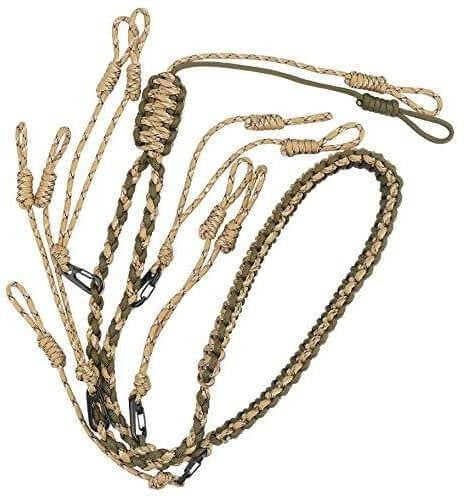 GLORYFIRE Duck Call Lanyard with Removable Drops Secures 5 Call Premium Military Grade Real Nylon Game Call Lanyard