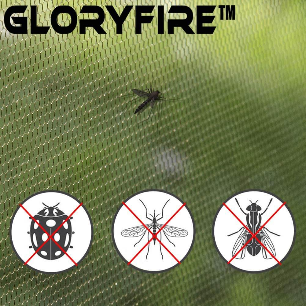 GLORYFIRE Camping Mosquito Net Four Corners Enhanced Tactical