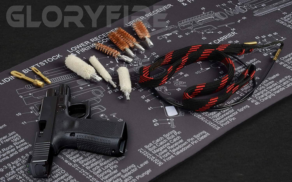 GLORYFIRE Bore Snake Gun Snakes for Rifle Shotgun Pistol