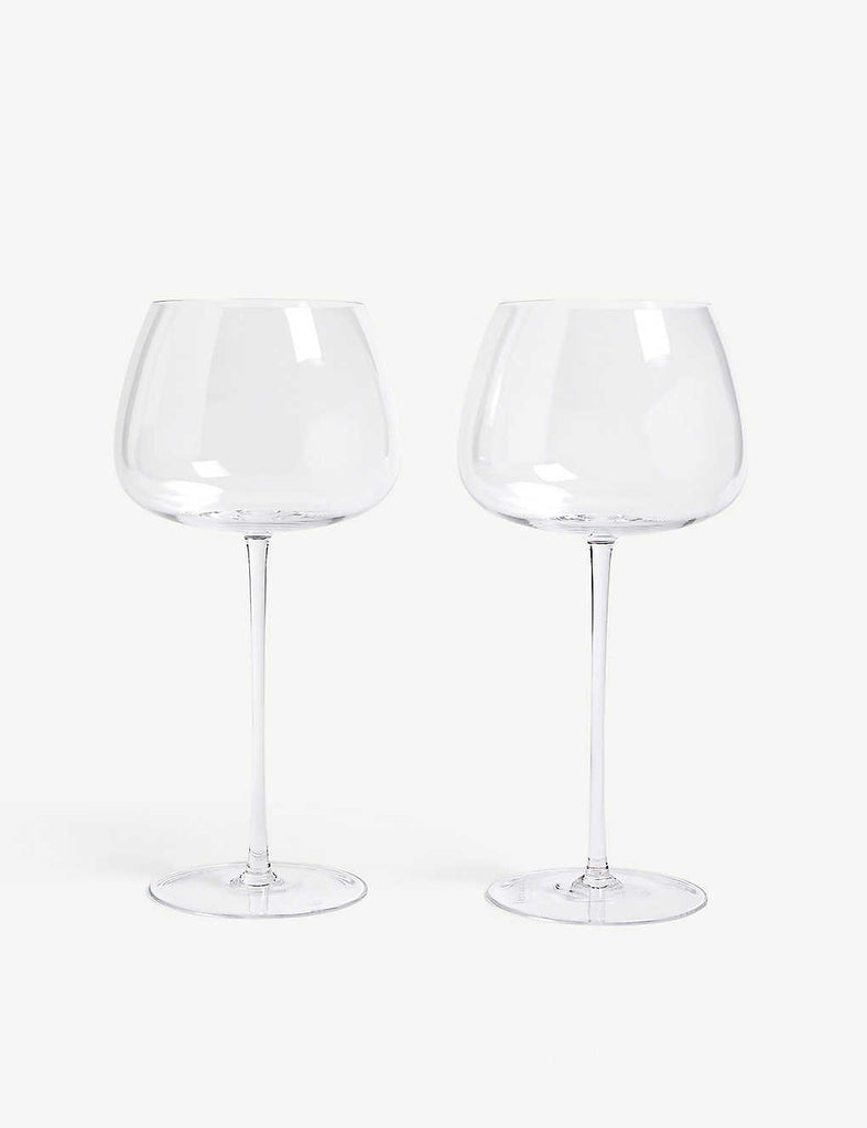 LSA Red Wine Balloon Glasses Set of Two