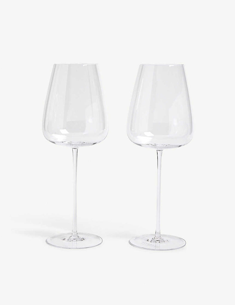 LSA White Wine Goblets Set of Two