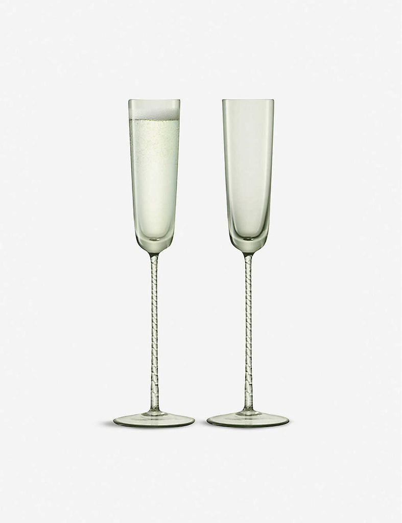 LSA Champagne Theatre Champagne Flute Set of Two