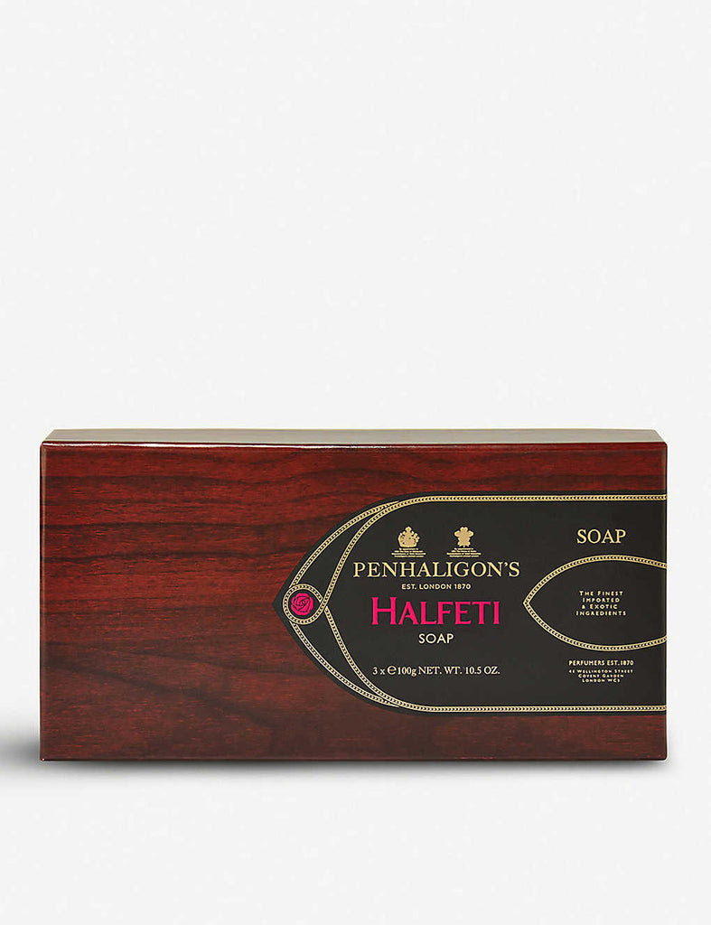 PENHALIGONS Halfeti Fragranced Soap Pack of Three