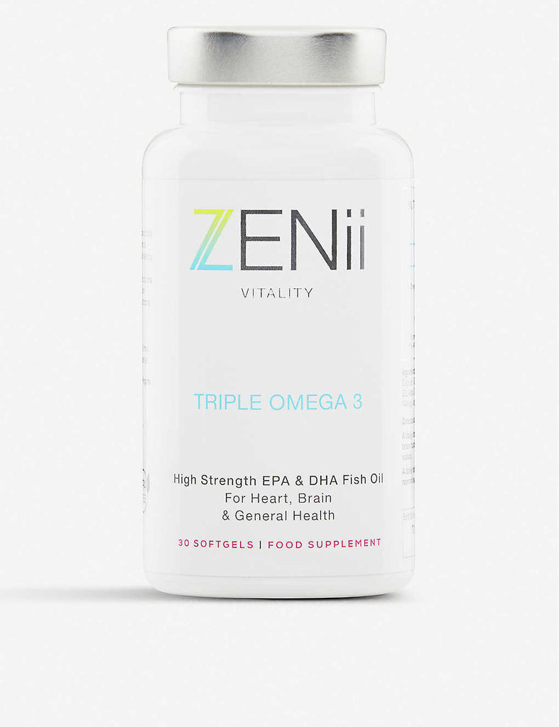 ZENII Triple Omega 3 Supplements 30 Capsules