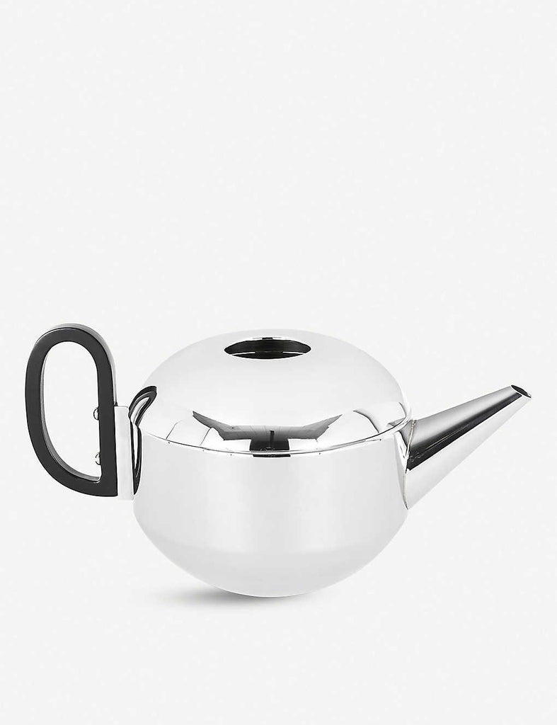 TOM DIXON Form Mirrored Stainless Steel Teapot 13cm
