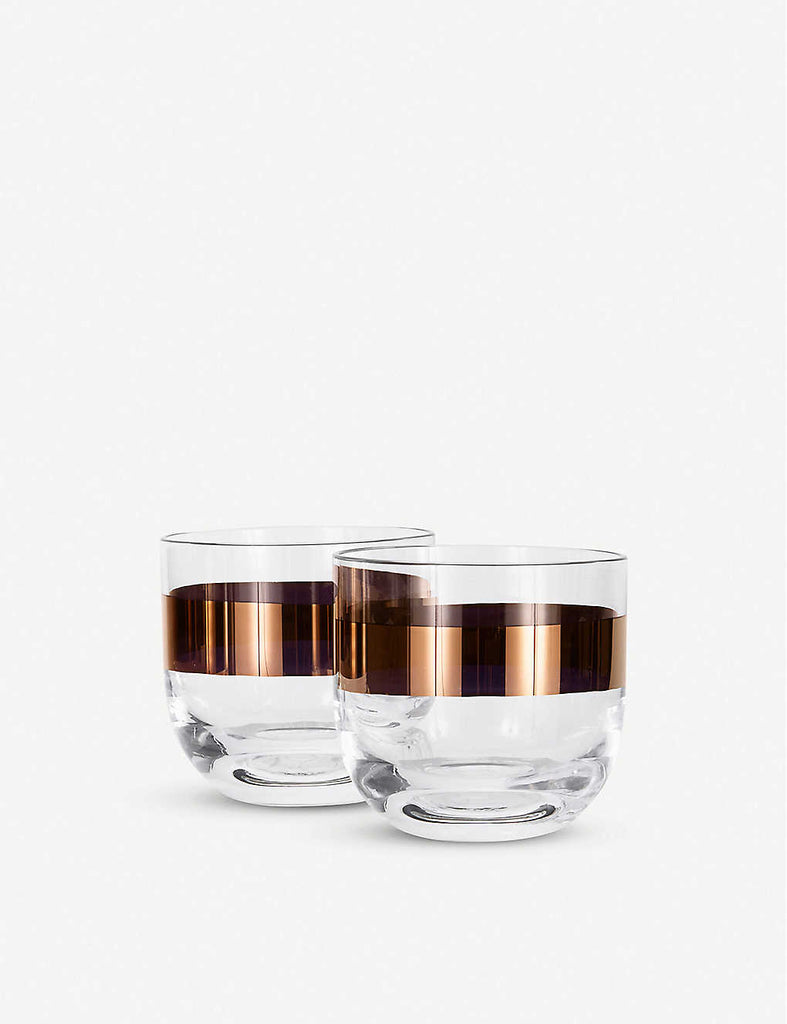 TOM DIXON Tank Whiskey Glasses Set of Two