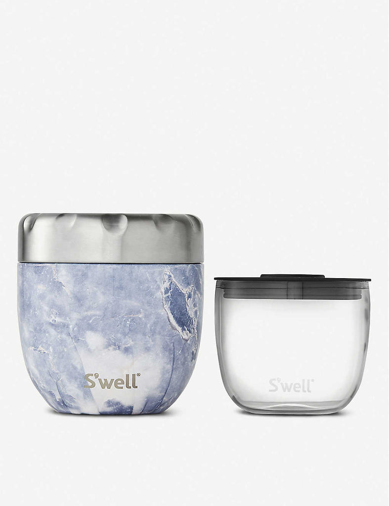 SWELL Eats 2-in-1 Stainless Steel Food Bowl 454ml