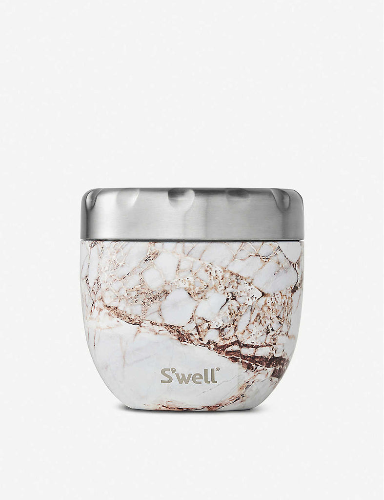 SWELL Eats 2-in-1 Stainless Steel Food Bowl 610ml