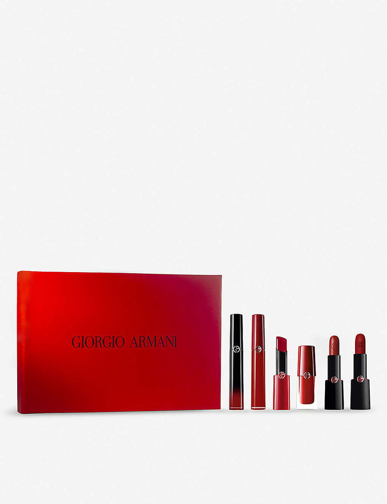 GIORGIO ARMANI Red Lip Collector's Limited Edition Box