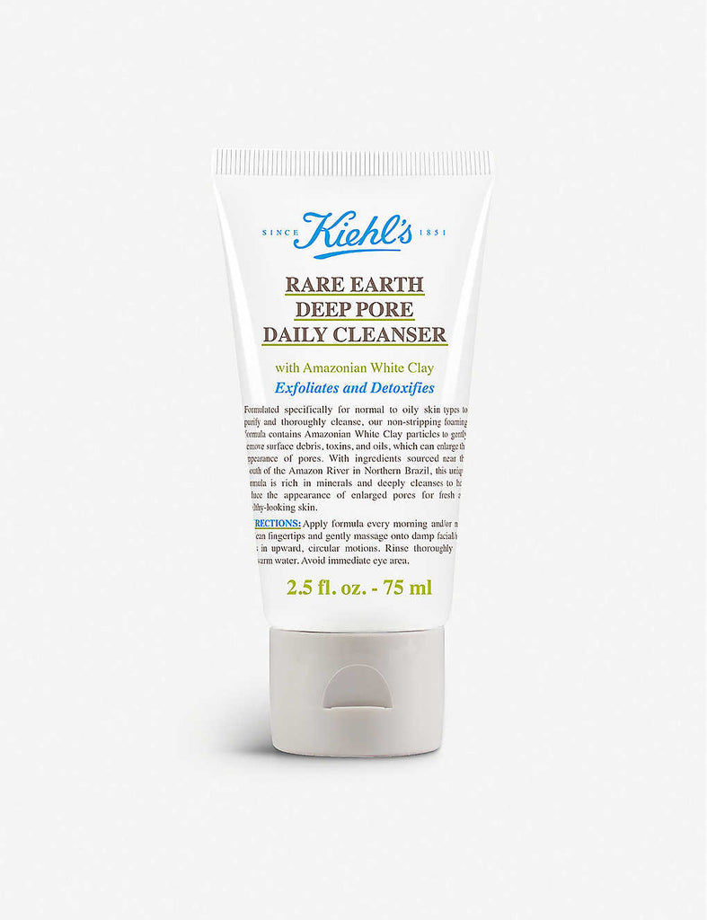 KIEHL'S Rare Earth Deep Pore Daily Cleanser 75ml