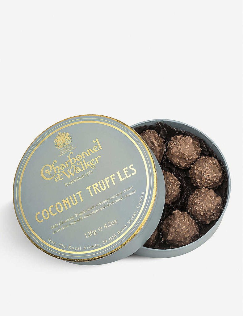 CHARBONNEL ET WALKER Milk Chocolate Coconut Truffles 105g