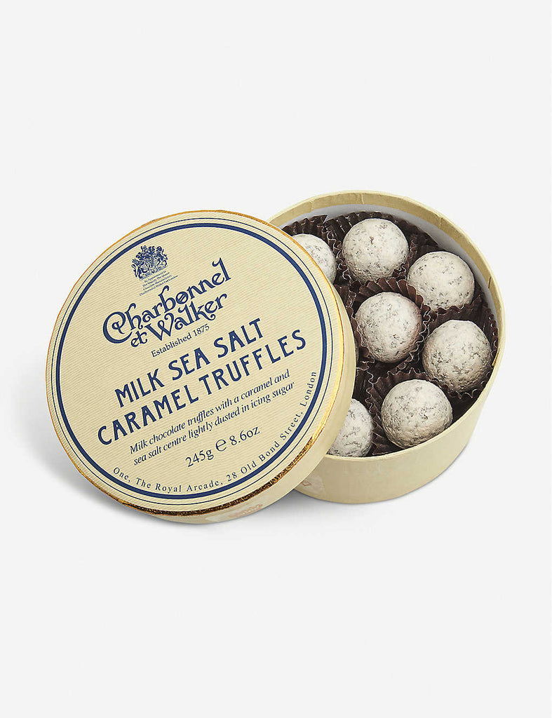 CHARBONNEL ET WALKER Milk Chocolate Sea Salt Caramel Truffles 245g