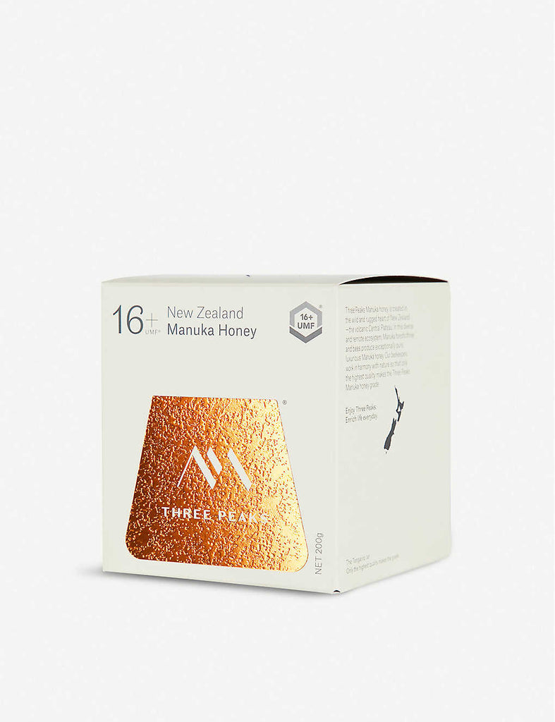 THREE PEAKS MANUKA HONEY Manuka Honey UMF 16+ 200g