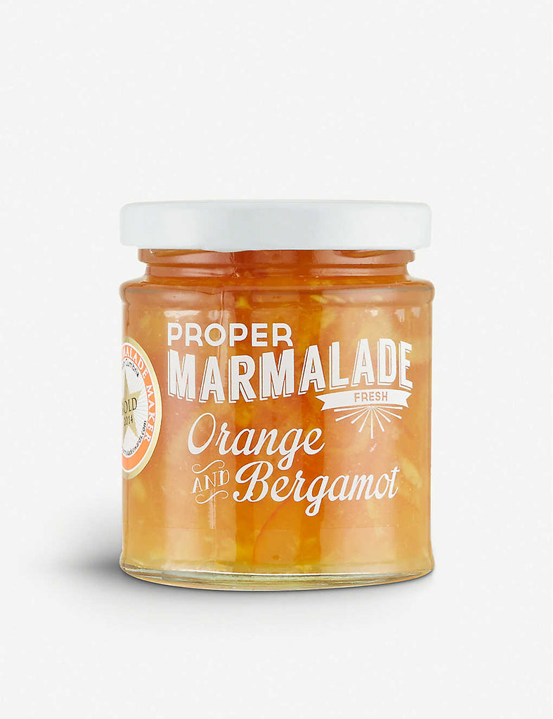 THE PROPER MARMALADE COMPANY Orange & Bergamot Marmalade 227g