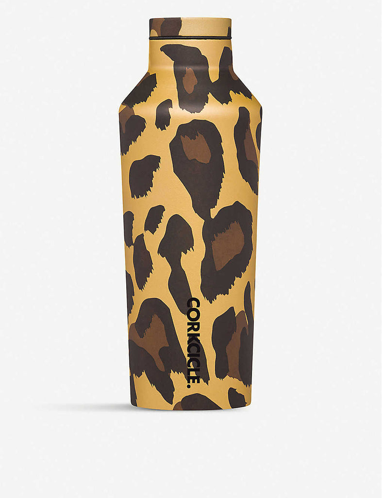 CORKCICLE Luxe Leopard Stainless Steel Canteen 250ml