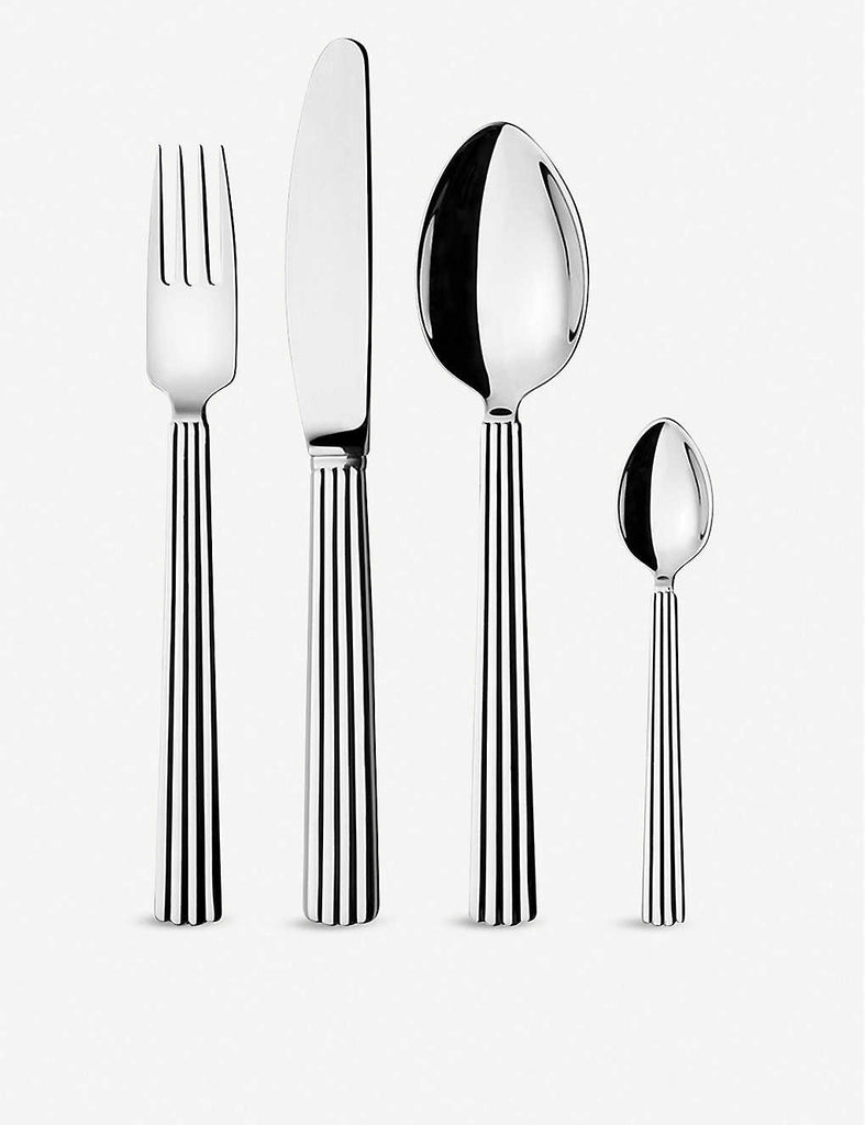 GEORG JENSEN Bernadotte Stainless Steel 16pc Cutlery Set