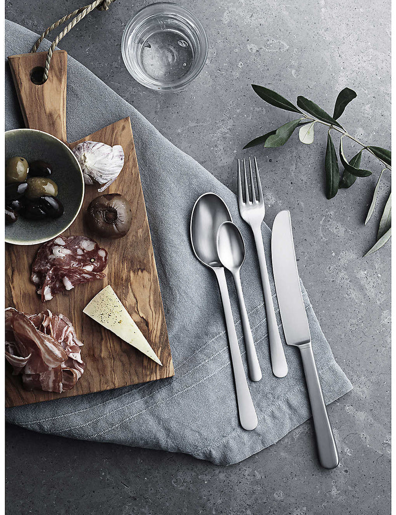 GEORG JENSEN Copenhagen 16pcs Stainless Steel Cutlery Set